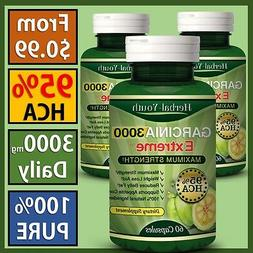 100% PURE Garcinia Cambogia Extract Pill 95% HCA Max WEIGHT