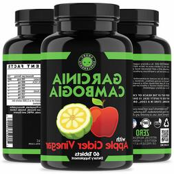 2 Pac Angry Supplements Garcinia Cambogia With Apple Cider V