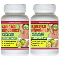 2 x Bottles Garcinia Cambogia Extract 95% HCA Natural  Weigh
