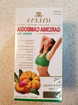 4 Pack Of Hyleys Slim Tea Garcinia Cambogi