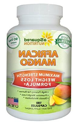 aSquared Nutrition African Mango Extract Cleanse -180 Capsul