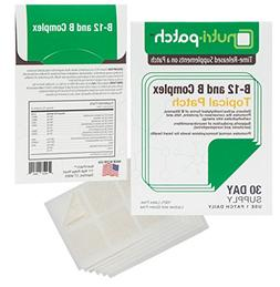 B-12 and B Complex Topical Nutrient Skin Patch from Nutri-Pa