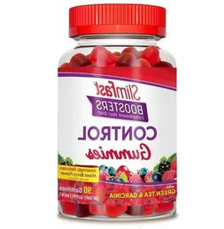 SlimFast Boosters Control Gummies, with Garcinia Cambogia an