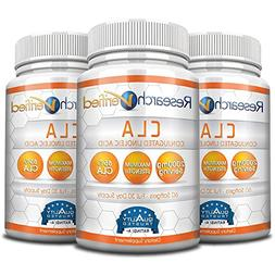 Research Verified CLA Safflower Oil - Natural Weight Loss wi
