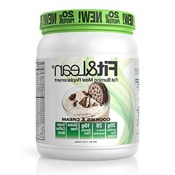 Fit & Lean Fat Burning Meal Replacement Shake Cookies & Crea