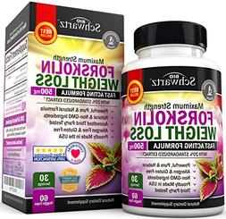 Forskolin Extract for Weight Loss. Pure Forskolin Diet Pills