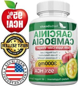 Herbal Beauty GARCINIA CAMBOGIA 95% HCA APPLE CIDER VINEGAR