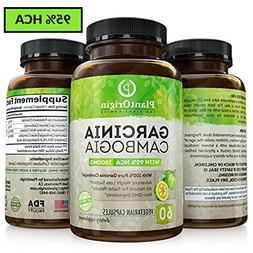 Garcinia Cambogia with 95% HCA - Highest Potency Appetite Su