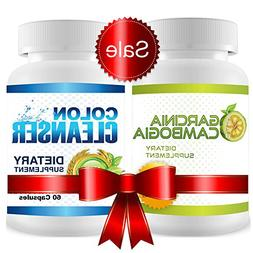 Garcinia Cambogia Cleanse Combo - 1 Month Supply