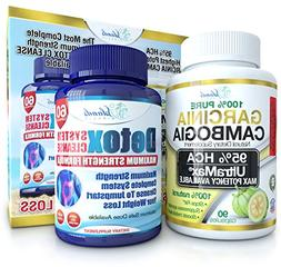 Garcinia Cambogia & Colon Detox Cleanse Combo Pack To Jumpst