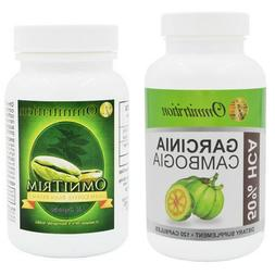 OMNITRITION Garcinia Cambogia Dietary Supplement and Green C