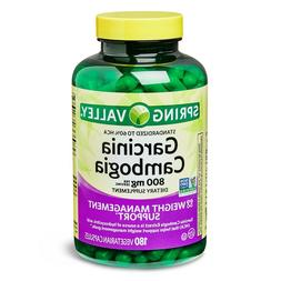 Spring Valley Garcinia Cambogia Dietary Supplement, 90 count