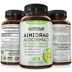 100% Pure Garcinia Cambogia Extract With HCA For Fast Fat Bu