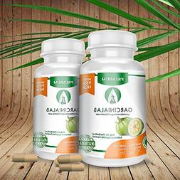 2 Pack Garcinia Cambogia 100% Pure 1540 MG 95% HCA Most Pote