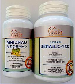 MIRACLE DIET COMBO - GARCINIA CAMBOGIA EXTRACTAND MIRACLE OX