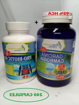 GARCINIA Cambogia HCA PROBIOTIC 40 Billion CFU Healthy Immun