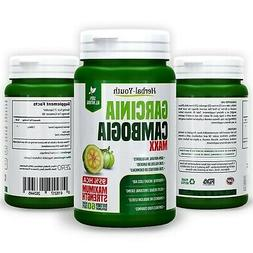Pure Garcinia Cambogia 3000mg Supplements - 95% HCA Weight L