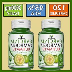 Garcinia Cambogia Ultimate Extract 100% Pure Mega Weiht Loss