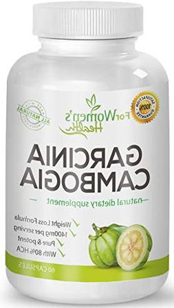 Pure Garcinia Cambogia 1400mg + Our Weight Loss Program For