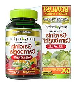 Purely Inspired Garcinia Gummies and Tablet Combo