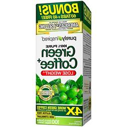 Purely Inspired Green Coffee Bean, Weight Loss Supplement, N