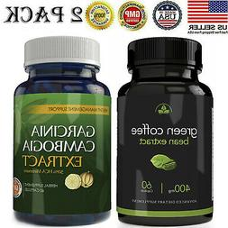 Green Coffee Bean Extract Garcinia Cambogia Weight Loss Diet