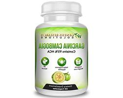 100% Pure 95% HCA Genuine Garcinia Cambogia Plus, Healthy Ap