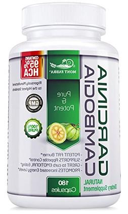 95% HCA - 180 Caps GARCINIA CAMBOGIA for Weight Loss/STRONG