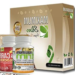 JUMP START your weight loss with the Maximum Slim kit. Inclu