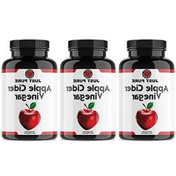 Angry Supplements Just Pure Apple Cider Vinegar Capsules for