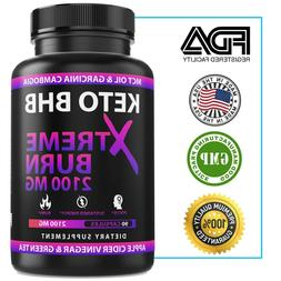2100MG Keto Diet Pills Advanced Weight Loss that WORKS Burn