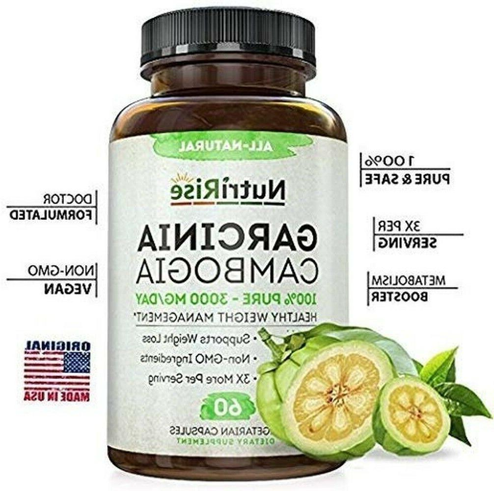 NUTRIRISE 100% Pure Cambogia with for