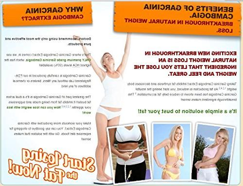 2 Bundle Pack Cambogia 95% HCA 120 Count. 100% 1540 Most HCA Available in the Market