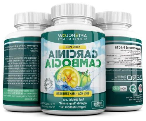 3 x 180 Capsules 3000mg CAMBOGIA Loss