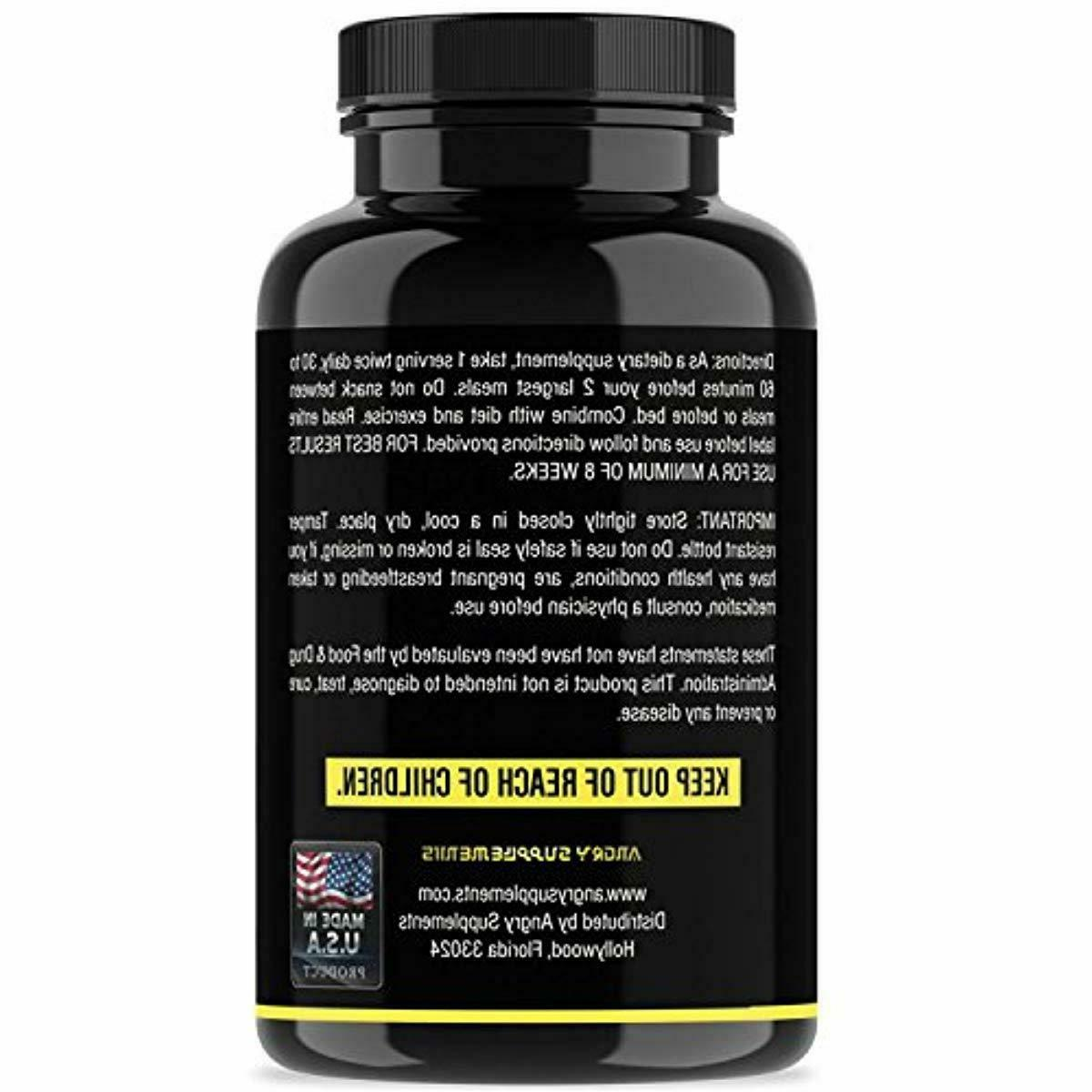 Angry Garcinia Pills w. Green Bean and