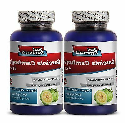 Appetite Suppressants - Garcinia Cambogia 1300mg -  Weight L