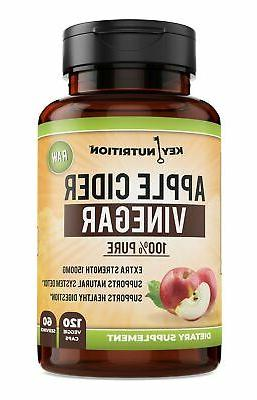 Apple Cider Vinegar 1500mg, 100% Organic, Pure & Raw – Hea