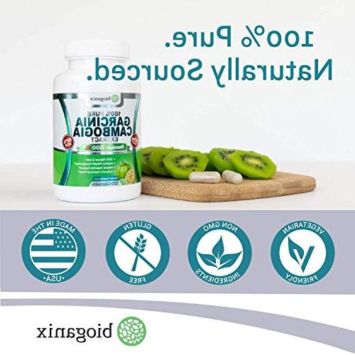 BioGanix Cambogia XL Ultra 60% HCA, Support