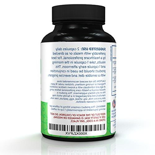 Premium Pure - Green Coffee Extract, Raspberry Ketones Cambogia, - Recommended Weight One