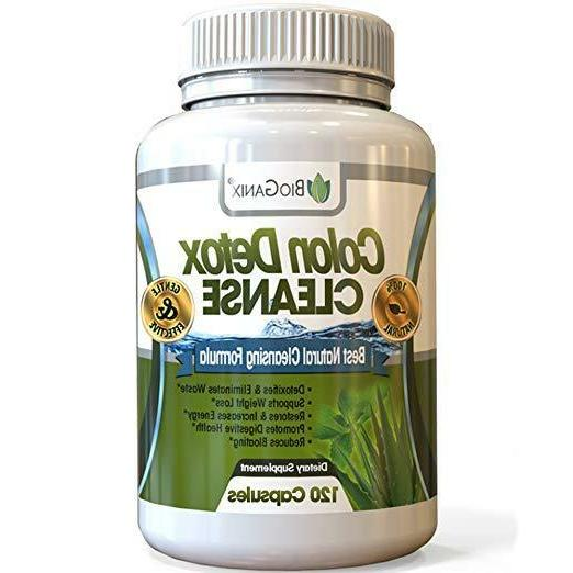 colon detox cleanse loss pills