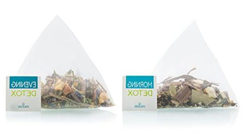 Foraging Detox 30 Day Night Teatox Cambogia Root For Loss Relaxing