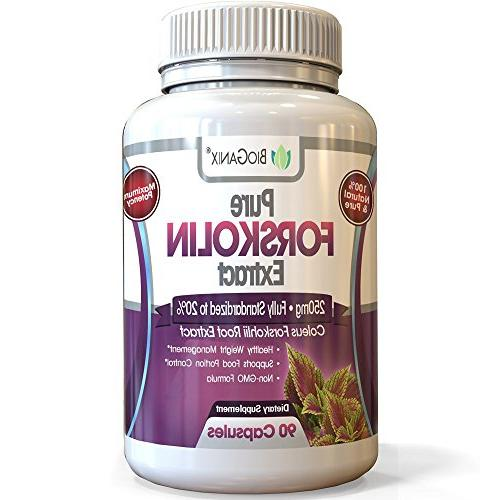 forskolin extract maximum strength belly