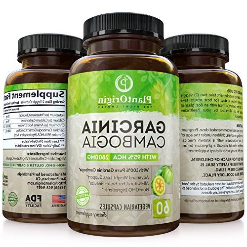 Garcinia HCA Appetite Blocker & Women Garcinia Cambogia Natural Loss - 60 Pills