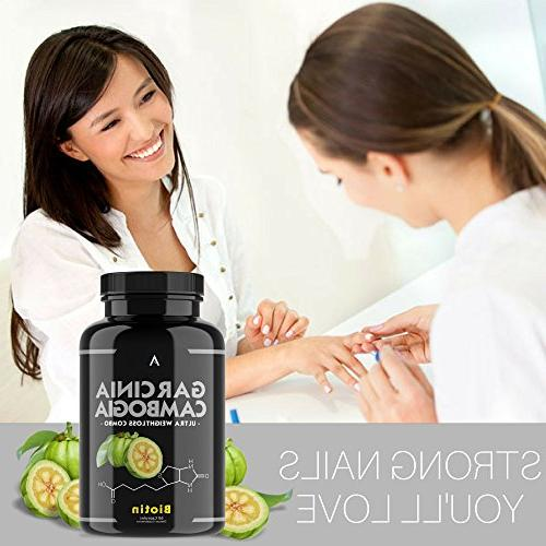 Angry Capsules Loss w/ BIOTIN Best Fat Burner To Healthy Hair, Thicken - Detox