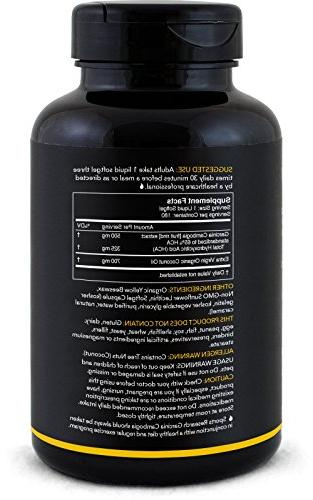 Pure infused with Organic   2-in-1 Support Healthy Management   180 Softgels