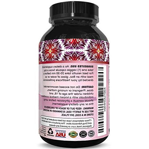 Bio Pure Formula Men & Women Strength Highest Quality Supplement and Digestion Support 60