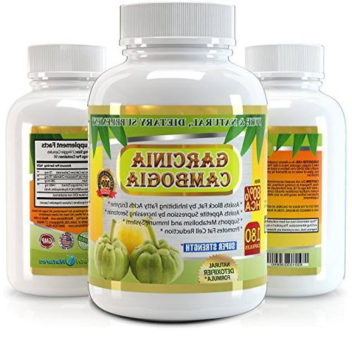 All New Garcinia Cambogia Extract 1500mg, Premium Quality, Highest Months' Supply, Best on Market, Weight Quick with Burner.