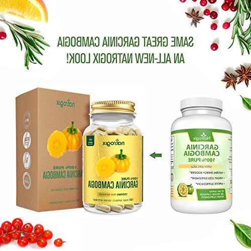 Pure Garcinia Extract w/ Best - Non Natural Suppressant - w/Free
