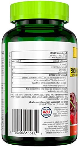 Purely Inspired Garcinia Cambogia+ Gummies, Supports Weight Loss, Natural Flavors, Fruit Burst 50