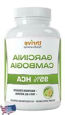 Thrive Naturals Garcinia Cambogia 95% HCA - Best Weight Loss